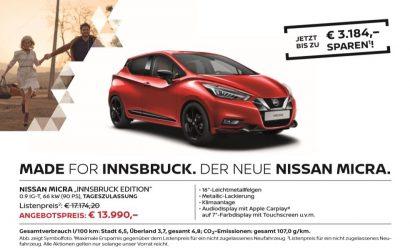 Micra Innsbruck Edition
