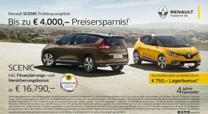 Renault Scenic Aktion